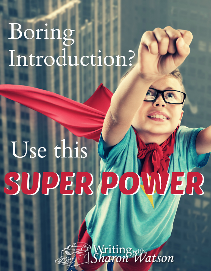 Introductions can be boring. Super boring. Learn how your students can powerfully engage their readers with this writing super power in their introductions.