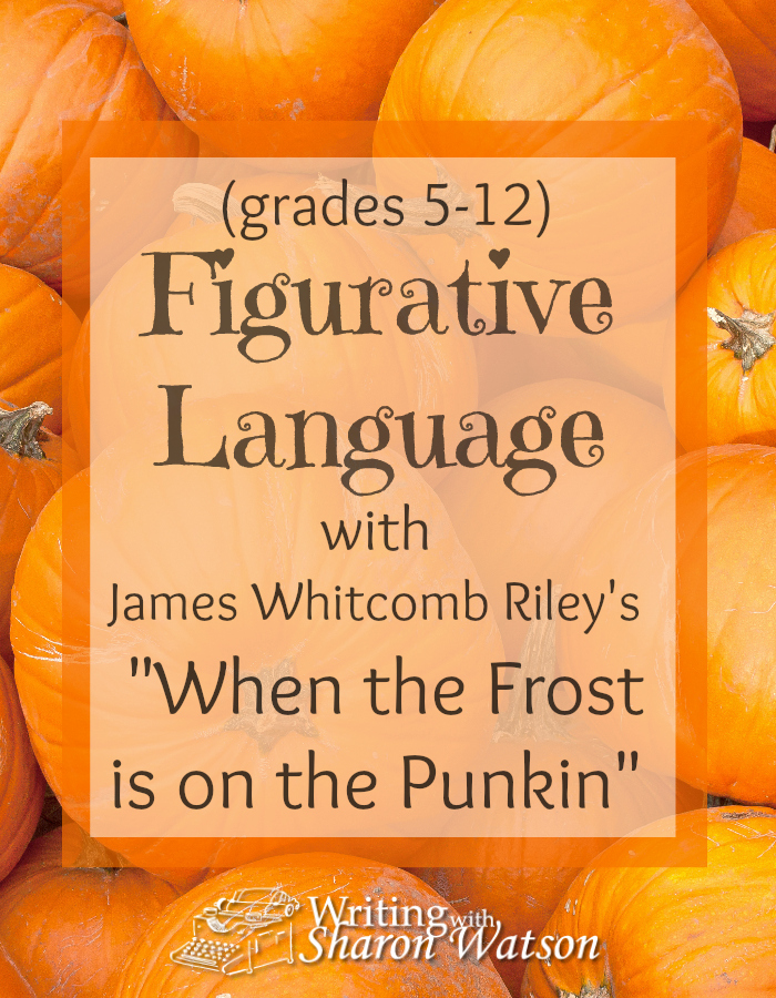 Read Riley's famous autumn poem and then have fun with three writers' devices that will enhance your writing--all in three little words!