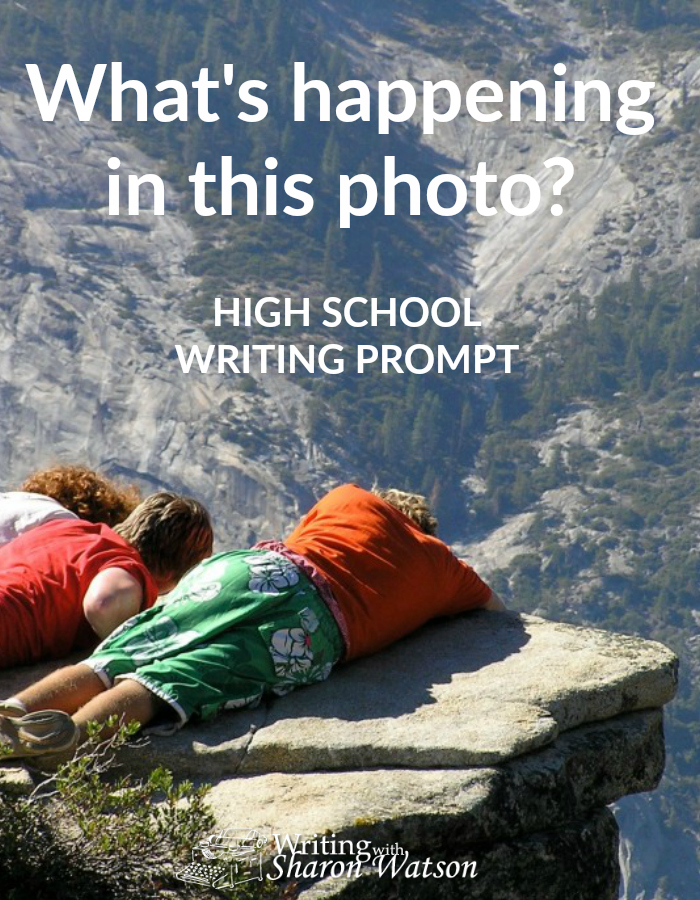 HIGH SCHOOL WRITING PROMPT -- Look at this spine-tingling photo taken in Yosemite National Park and use it to springboard you into writing a story, journal entry, or other type of writing.
