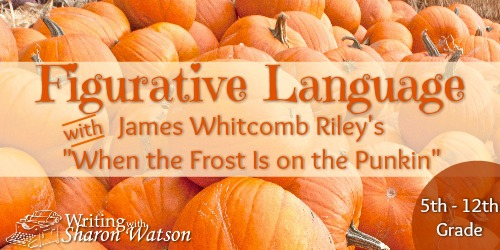 When the Frost is on the Pumpkin: 3 Fun Writers' Devices