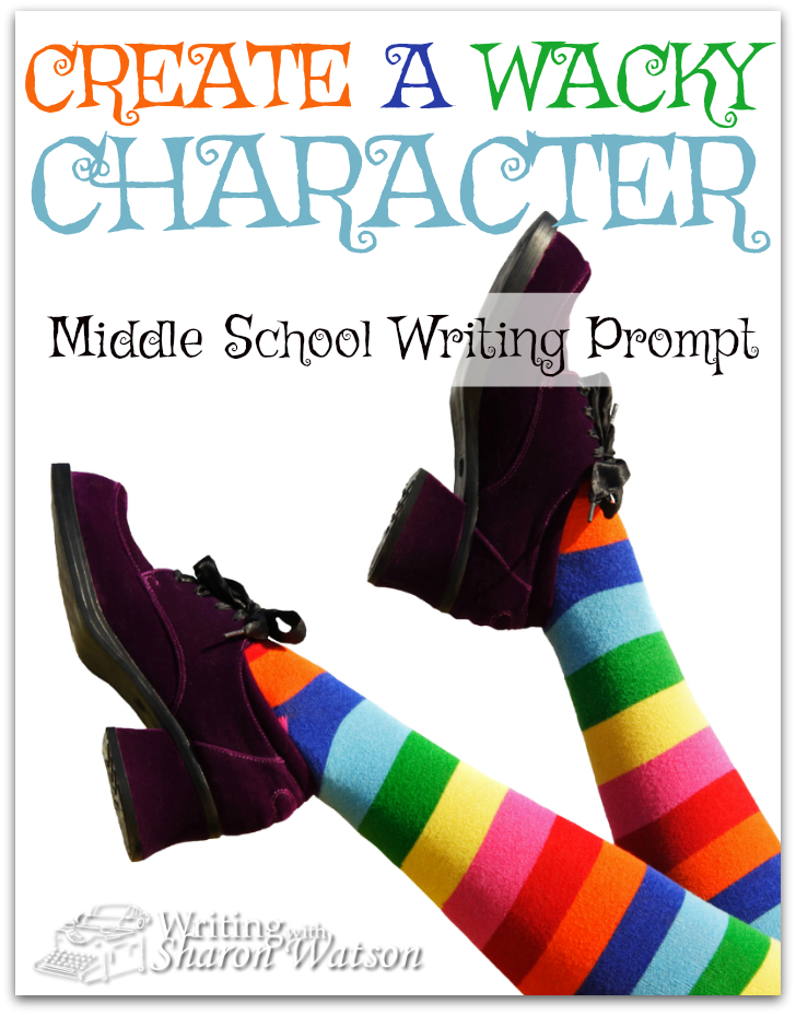 Middle School Writing Prompt -- Amelia Bedelia is fun to read about because she takes things literally--and then gets them wrong. Create your own wacky character who gets into trouble with opposites.