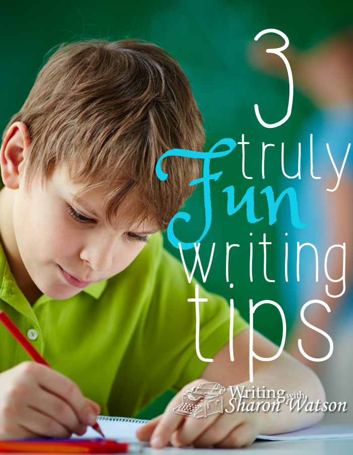 Here are three shocking writing tips you can use in your homeschool—shocking because they are fun and because, to your children, they are totally unexpected.