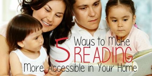 National Reading Month: 5 Ways to Make Reading More Accessible in Your Home