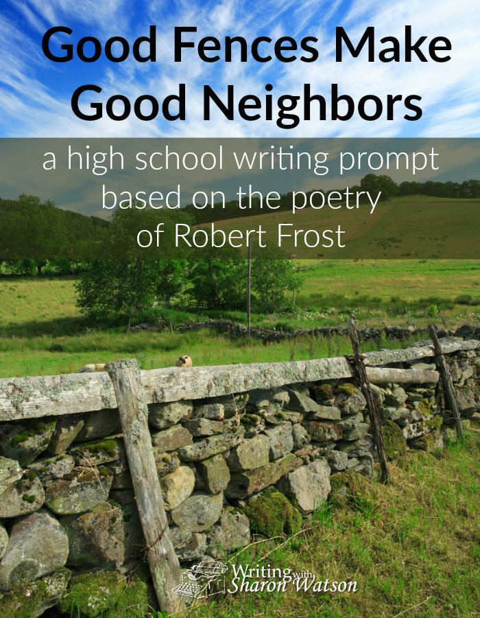 "High School Writing Prompt -- In 1961, famous poet Robert Frost did something no other poet had ever done. Read about it here and comment on his poem ""Mending Wall."""