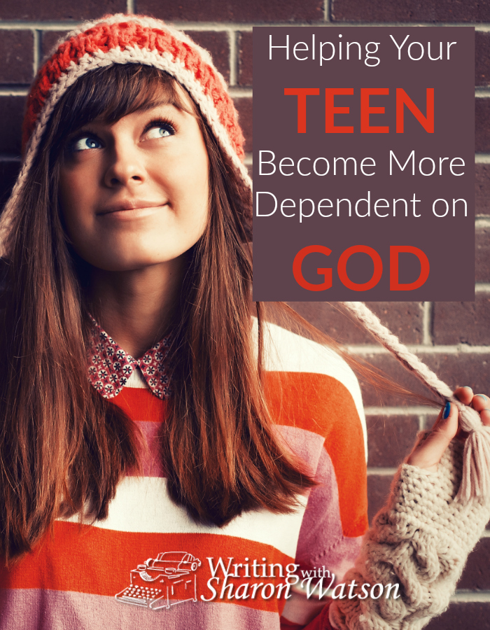 Teen maturity means becoming less dependent on parents, but maturity for Christian teens means a reliance on God. How can we help them become more dependent on God?