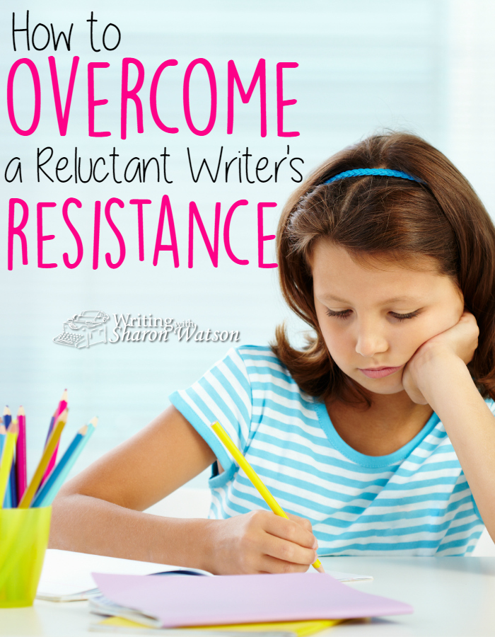Are you encountering resistance when you ask your students to write? Is there crying involved? Learn how to overcome a reluctant writer's resistance.