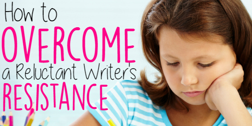 How to Overcome a Reluctant Writer's Resistance