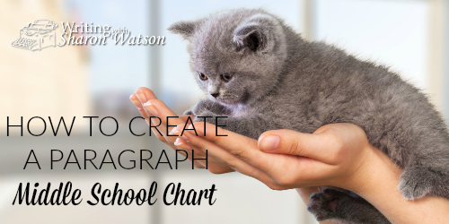 How to Create a Paragraph: Middle School Chart
