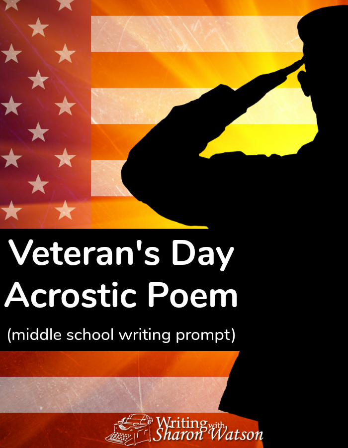 Celebrate Veterans Day this year by writing an acrostic poem to or about a veteran. Download and use this (free) handy worksheet for your students.