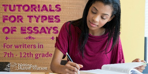 Tutorials for Specific Types of Essays