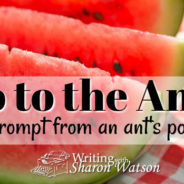 Go to the Ant—A Picnic Prompt
