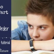Intro to Writing, Part 5: Point Orders