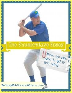 enumerative essay