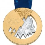 Olympic gold medal, 2014 Winter Olympics, Sochi, Russia