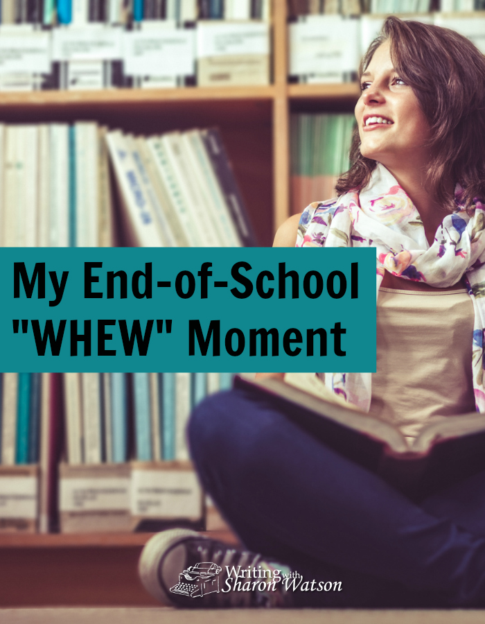 Whew! It's the end of school. Another homeschool year under our belts; another hard task finished. Read my end-of-school experience. It's not what you think!