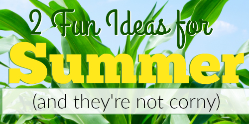 2 Fresh Summertime Ideas for Writing and Literature