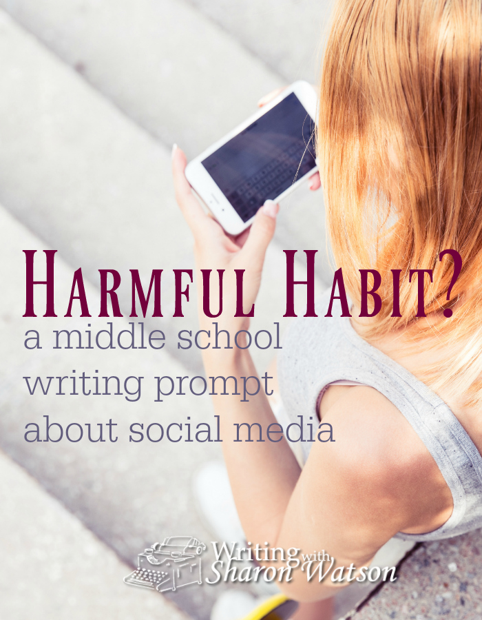MIDDLE SCHOOL WRITING PROMPT: Parents often limit students' social media and gaming habits. Now doctors want to. In this middle school writing prompt, your student will examine this topic.