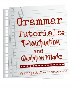 Quotation Marks And Commas Periods Colons And Semicolons