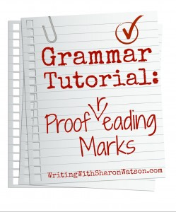 proofreading marks image