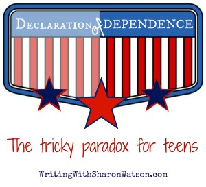 declaration of dependence teen maturity image