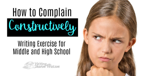 How to Complain Constructively
