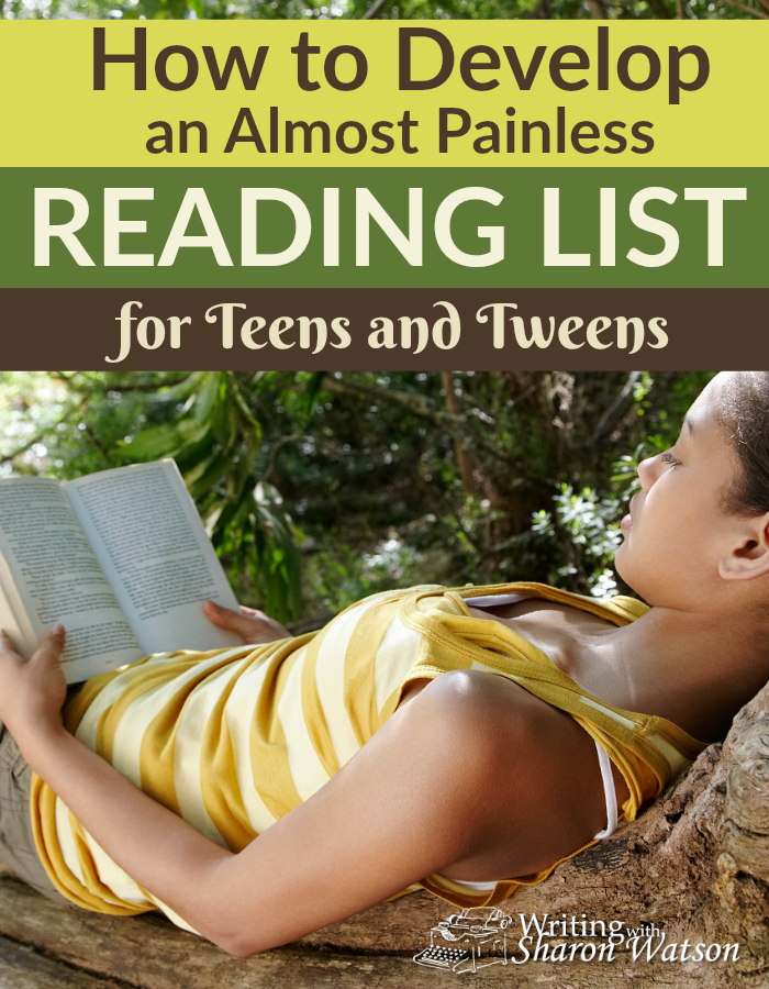 Would you like to develop a reading list for your teens and tweens? Try this method that really captures the interest of your readers.