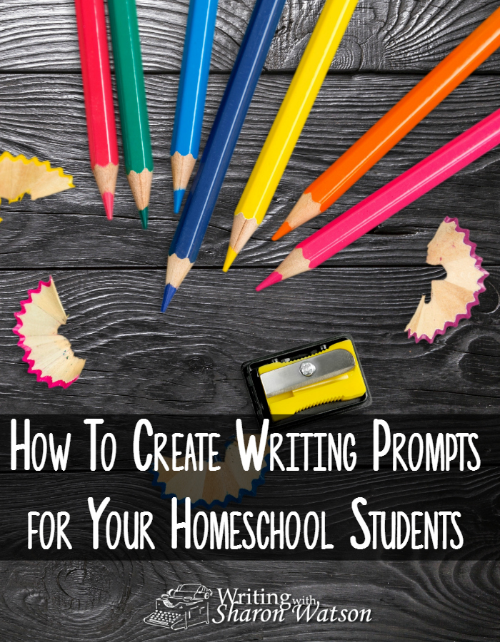 How to Create Writing Prompts for Your Homeschool Students -- What can you do when you can't find just the right prompt for your students? Use this fun method to create writing prompts tailored to your students' interests.