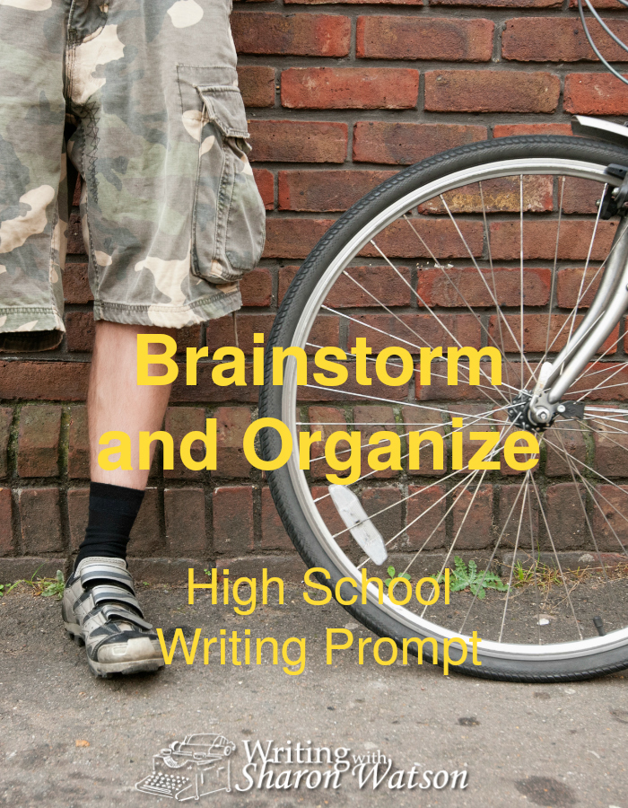 Brainstorm and Organize High School Writing Prompt -- You are not wasting time when you brainstorm. Use these colorful worksheets to practice brainstorming and organizing before you write.