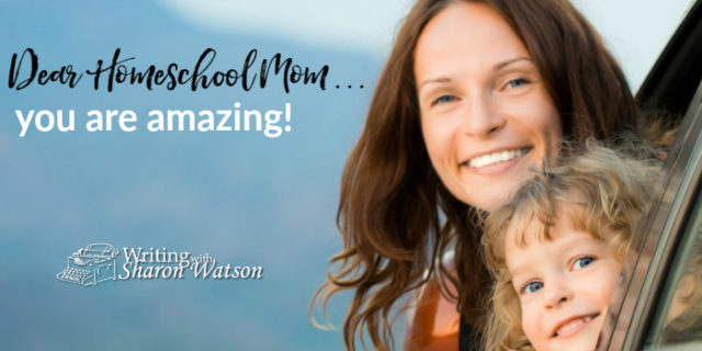 Homeschool Mom, You Are Amazing