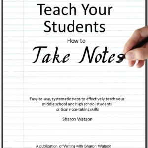 Cover, Teach Your Students How to Take Notes