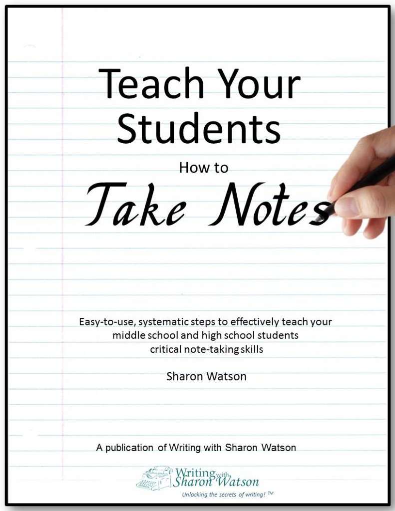 Teach Your Four Year Old To Read: Teach Your Students How To Take Notes - EBook