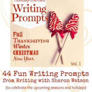 Holiday-themed Writing Prompts cover 4