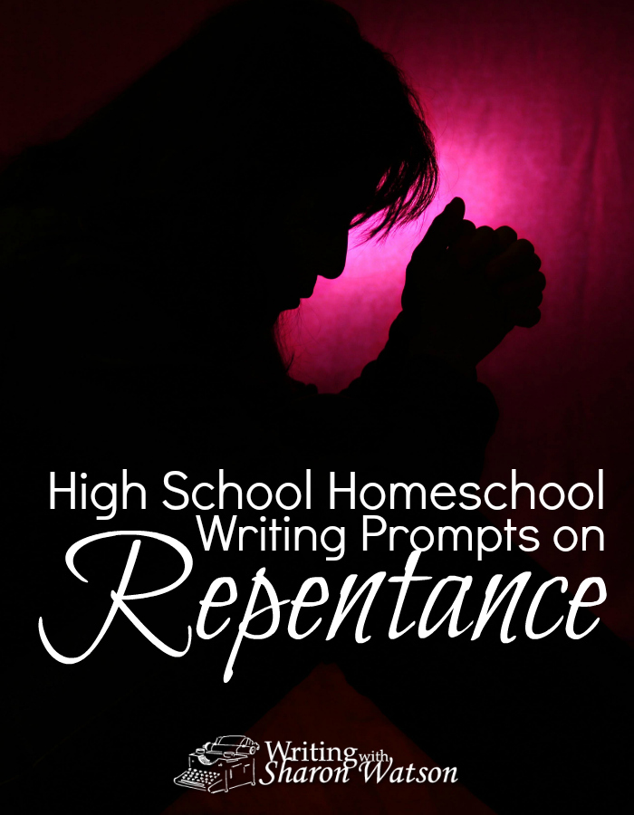 HIGH SCHOOL PROMPT: There are many gut-wrenching parts to Jesus' death. One is Peter's denial that he knows Jesus. Teens can choose from 7 prompts about repentance