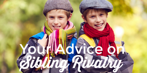 Sibling Rivalry: Give Advice to a Friend