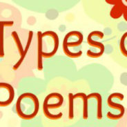 3 Types of Poems for Poetry Month