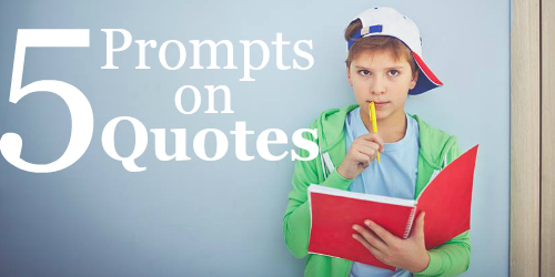 5 Prompts on Quotations