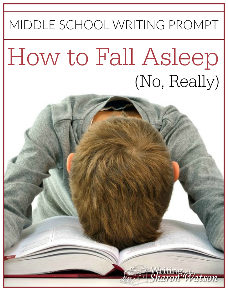How to Fall Asleep (middle school writing prompt)