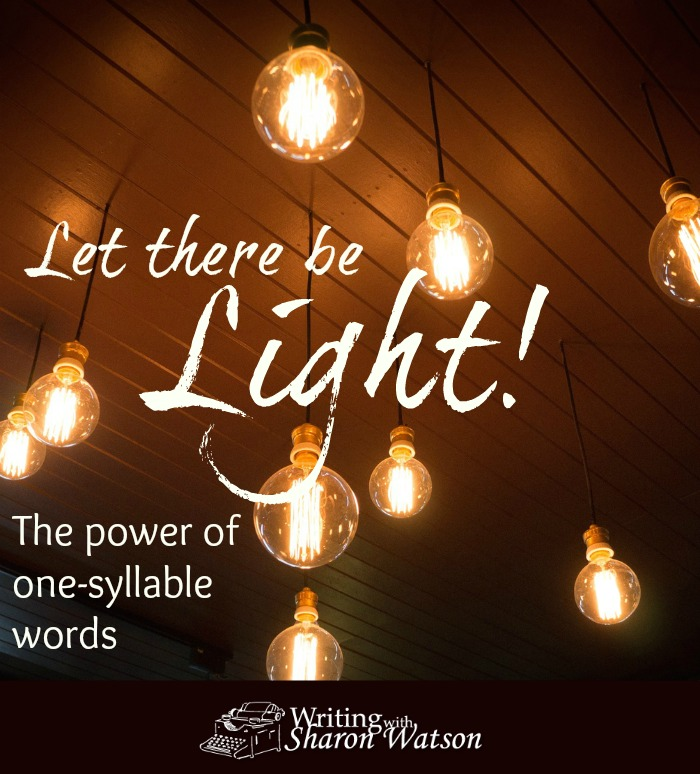 let there be light the power of onesyllable words