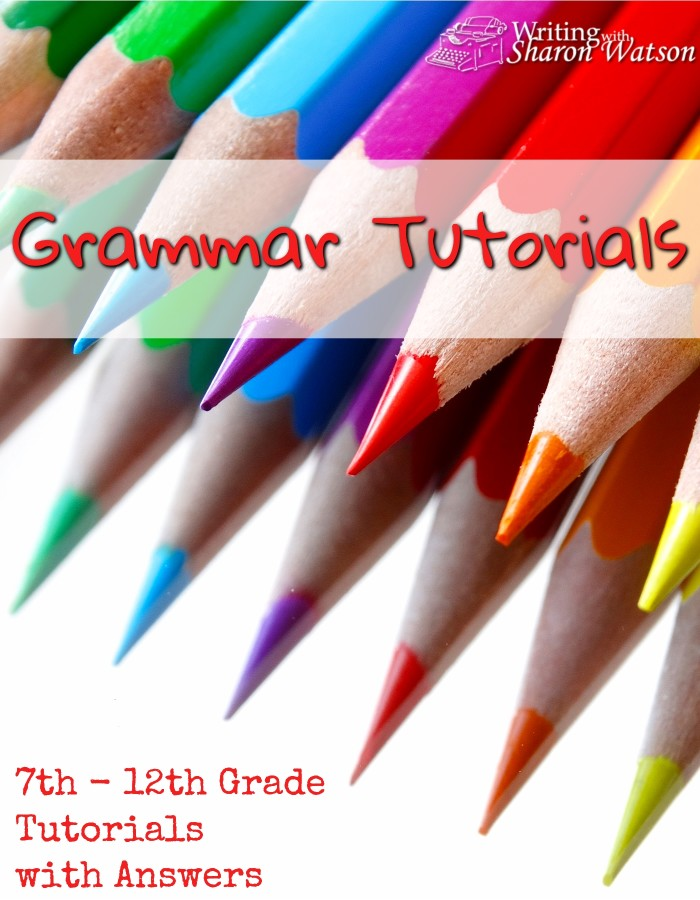 Grammar Tutorials -- Perfect for your 7th-12th grade students, this bundle of 8 fun grammar tutorials includes infographics, exercises, and answers. Printables included.