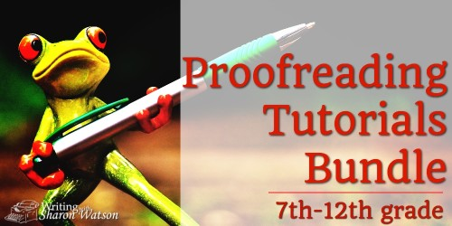 Proofreading Tutorials Bundle