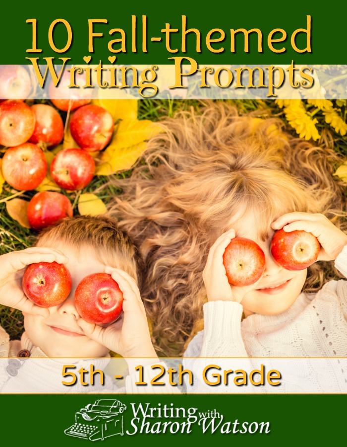 10 Fall-themed Writing Prompts -- Looking for something to engage your 5th-12th grade writers? Use these fall-themed writing prompts for poetry, opinions, descriptions, and more.