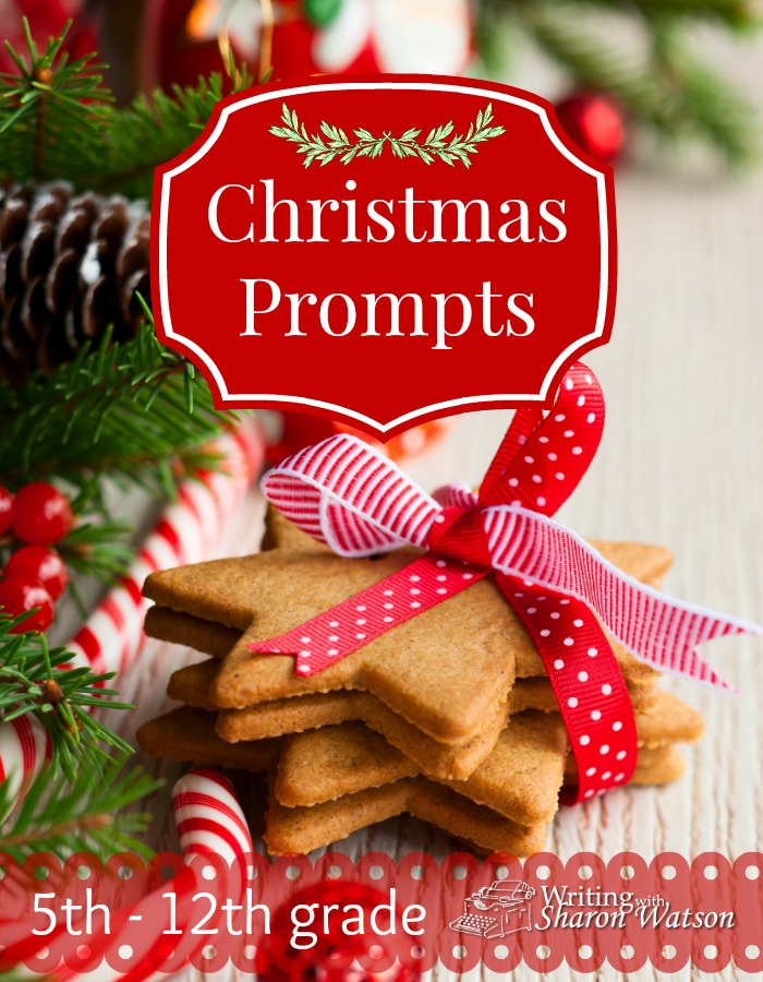 Christmas Writing Prompts -- A ban. A carol. A strange ornament. What do these things have in common? They are all part of our fun Christmas prompts. 5th-12th graders will enjoy these.