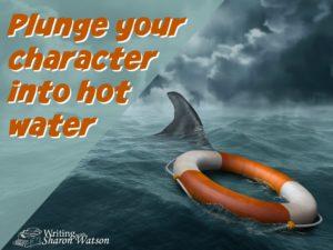 storywriting and hot water