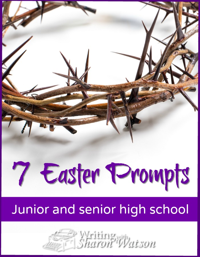 Easter Writing Prompts for Middle and High School - Looking for a way your students can focus on the meaning of Easter? Our special prompts are aimed at the heart of Easter and our dear Savior's death and resurrection. #homeschool #homeschooling #writing #writingprompts