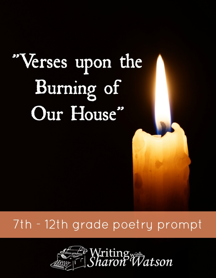 Has something traumatic happened to you or your family? Writing it out in poetry can help you cope with it, as this moving poem by Anne Bradstreet shows.