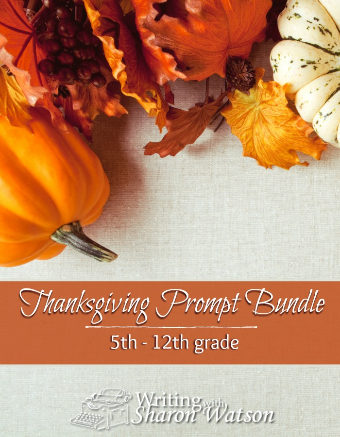Help your students and children find that attitude of gratefulness with this bundle of Thanksgiving writing prompts. For students in 5th-12th grade.