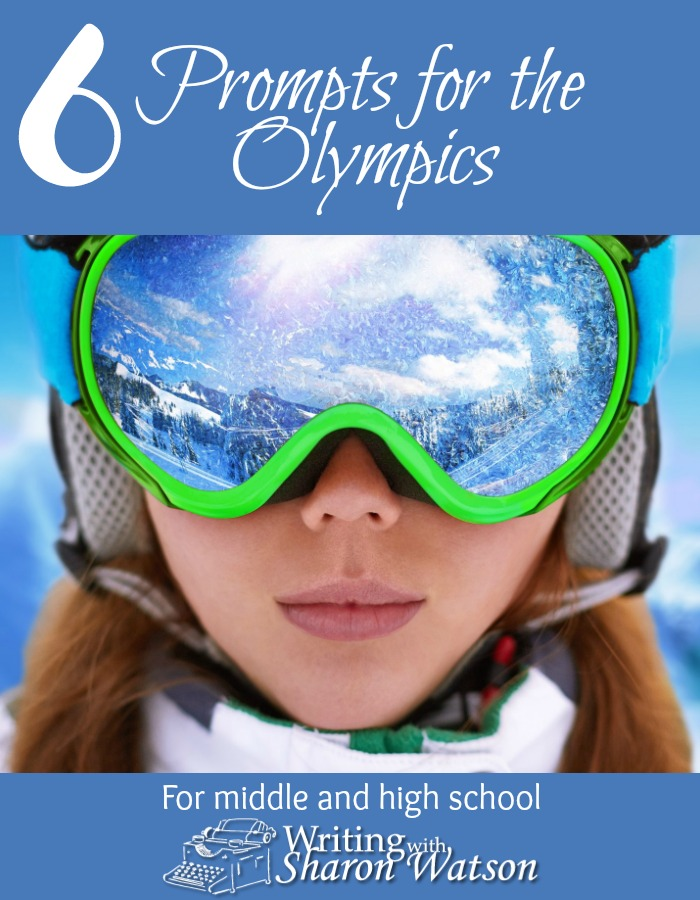 Involve your students in the excitement and issues surrounding the Winter Olympics with these six fun prompts. Designed for students in 5th - 12th grade.